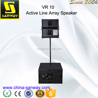 VR10 and S30 2x15 inch Stereo System Line Array Speaker Box Design