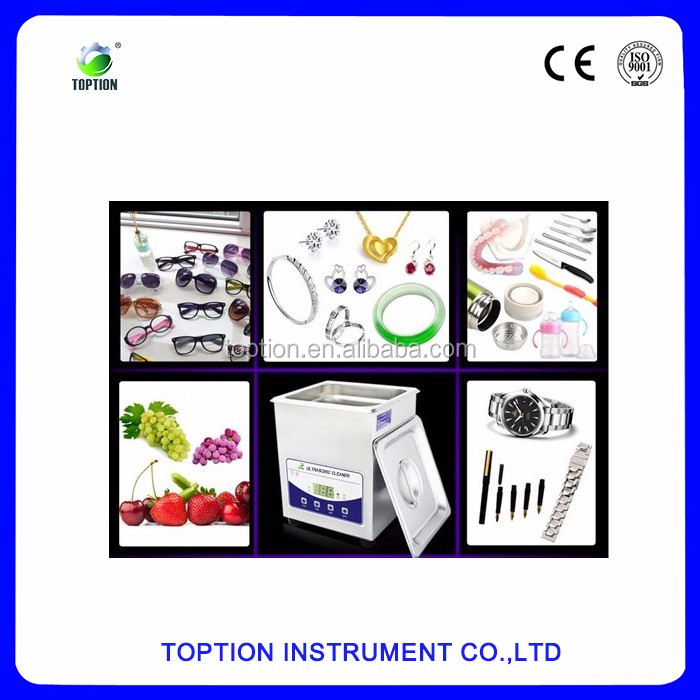 Toption digital ultrasonic cleaner with heater for cleaning jewelry