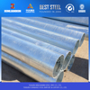 hollow iron pipe hollow box section, hot dipped galvanized steel pipe price