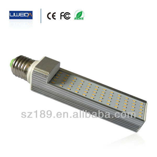 Energy-saving WW/NW/W Color Temperature 11W G24 LED Down Lamp