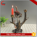 Resin home decors deer antler candle holder