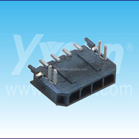 MX 3.0mm pitch 4pin single row straight Wafer&Housing connector