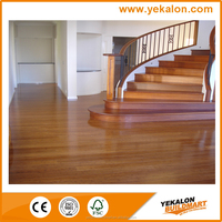 Patented New best Indoor usage Commercial Flooring,Solid Bamboo flooring For Hotel Project Parquet Natural bamboo flooring