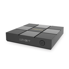 smart android tv box hd 4k output support 2.4G wifi wireless