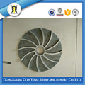 CUSTOMIZED STEEL LOST WAX CASTING SEMI OPEN IMPELLER