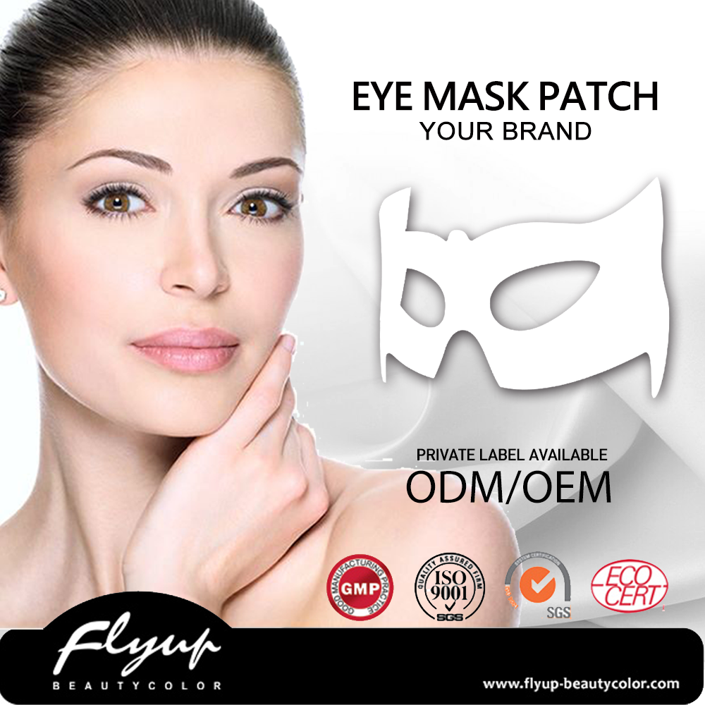 Professional quality private label collagen gel eye pads