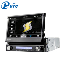 Hot selling good quality car multimedia 1 din car dvd player with touch screen