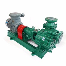 PTFE/PFA Teflon Lining Centrifugal Pump Power Plant For Feeding Burners