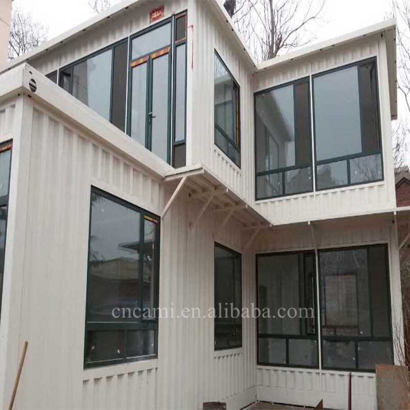 Customized super value prefab residential container house