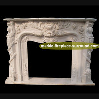 fireplace marble surround indoor manufacturer price exquisite stone fireplace marble surround