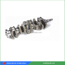 High quality forged crankshaft blank crank shaft
