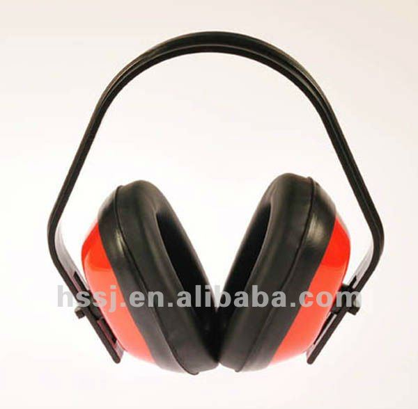 2016 noise reduction ear muffs reinforced ABS headband ear muffs hearing protection ear protection