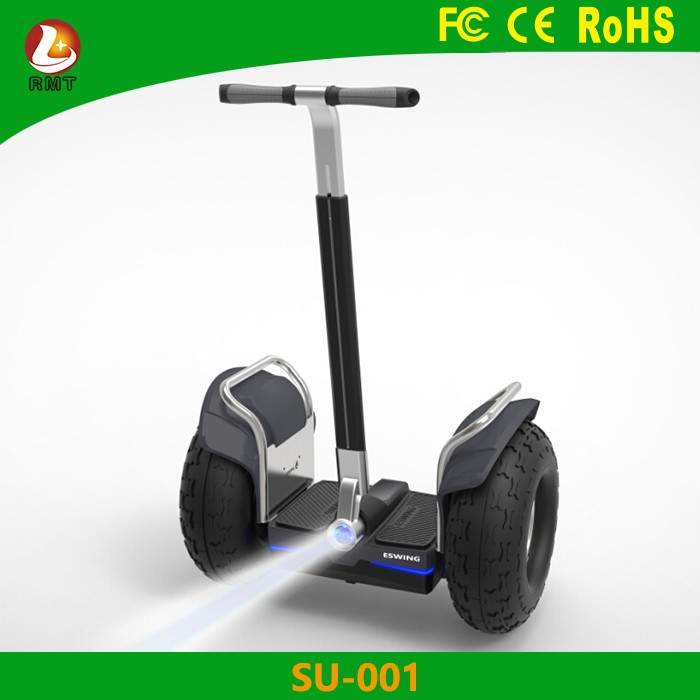 China supplier 19 inch electric scooter hoverboard electric motorcycle with handle