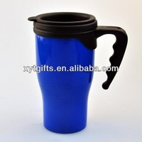hot sell soft kids personalized plastic mugs with handle