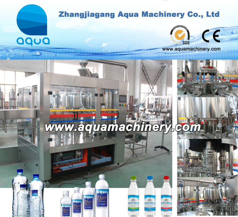 CGFA8-8-3 Aqua Small Mineral Water Plant/Production Equipment/pequena fabrica de agua mineral