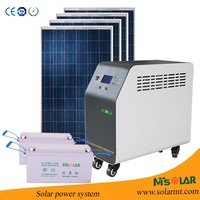 3KW off grid whole house solar power system solar system dubai / solar home power system in india use
