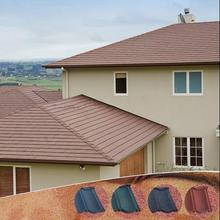 Popularly in Nigeria asphalt roofing shingles Type of roofing shingles/stone coated roof tile with 30 years guarantee
