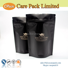 Custom printed aluminum foil packaging bag for tea