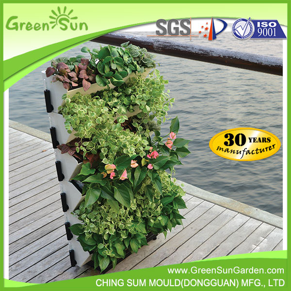 home decor garden decoration with green wall