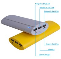 12000mah Wholesale Universal Mobile Charger pack Portable Battery Charger Power Banks Supplier