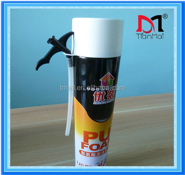 750ml 750g family use U5-type expanding polyurethane foam sealant, fill gaps and crack, polyurethane foam