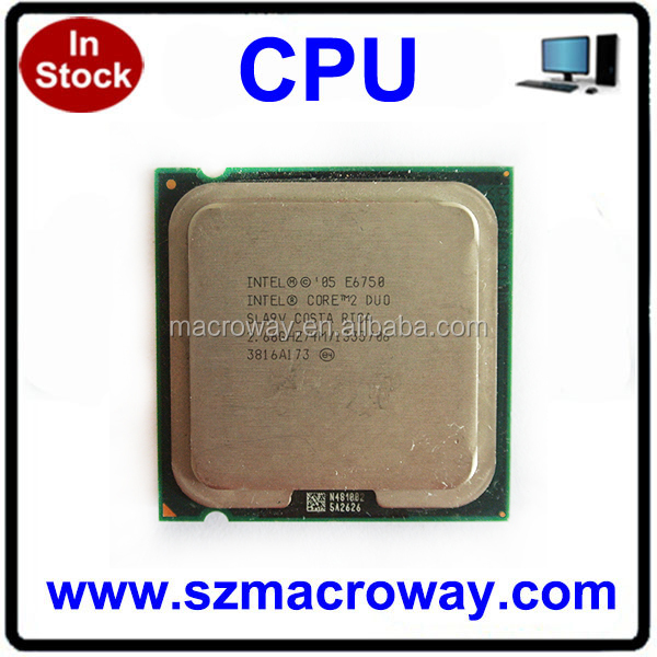 Original intel clean pulled CPU E7200 E7300 E7400 E7500 Cheap used desktop CPU