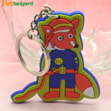Promotional custom soft pvc epoxy bear keychain material