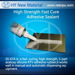 High Strength Fast Cure Adhesive Sealant/silicone super glue