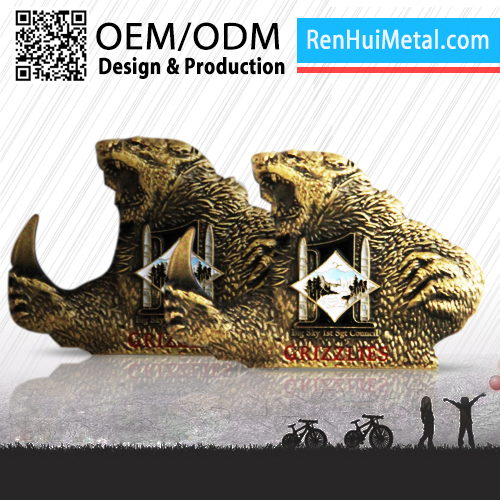 Promotional 2D 3D design creative gifts metal coin antique
