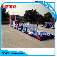 Mini water park custom aquapark inflatable water park with SGS certificate