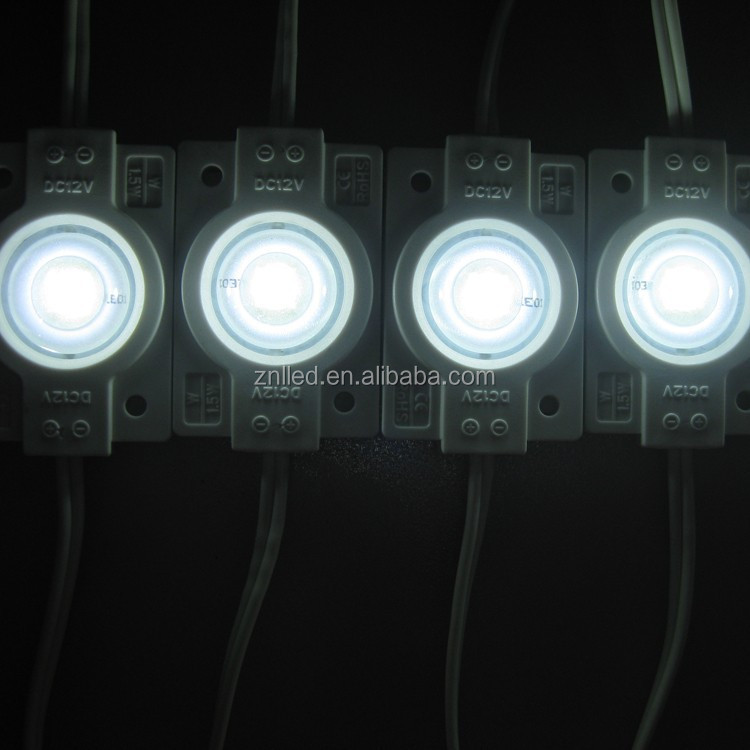 Good quality injection waterproof smd 1.5w high power 5050 led module 12v