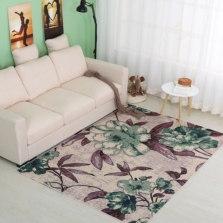 Mat Wholesale New Fashioned Abstract Simple Design Floor Rug Wool Carpet Tile For Living Room