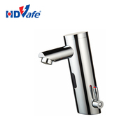 Deck Mounted Thermostatic Automatic Sensor Tap Chrome Electronic Auto Stop Water Faucet