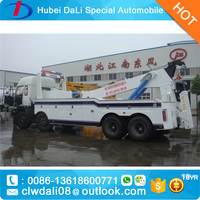 DONGFENG 315hp 8*4 Heavy Duty 8ton Rotator Wrecker Tow Truck Rotator Recovery Truck for sale