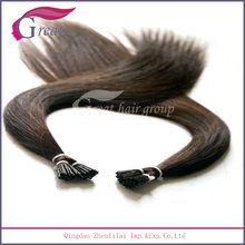 Wholesale Full cuticle hight quality Keratin 26 inch i-tip hair extension
