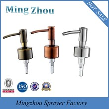MZ-DO8 Factory Direct Selling! Good price Stainless steel 24/410 and 28/410 bottled drinking water hand pump dispenser