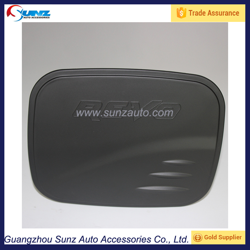Double Cable 4x4 matte black Fuel Tank Cover For Toyota Hilux Revo 2015 Auto Exterior Accessories