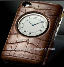 fashionable genuie leather case ,leather case i9220 5.3,alis leather case