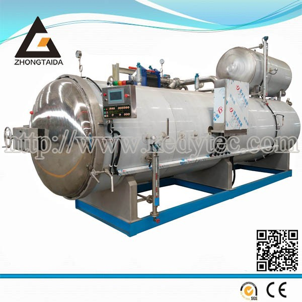 Hot Water Spray Autoclave For Food Sterilization