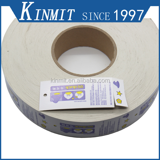 Disposable Custom Printed Thermal Paper Label Of Graded Goods Clothing