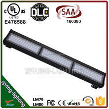 UL DLC CUL SAA listed 50w 100w 150w 200w 240w high ceiling LED Linear High Bay light replace HID Metal Halide