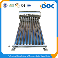 South American Market stainless steel unpressurized solar water heater made in china