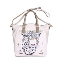 Tiger Pattern New Design Dual-Function Fashion Lady Handbag
