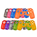 9 Colors for PS4 Controller Replacement Front Shell Transparent Case