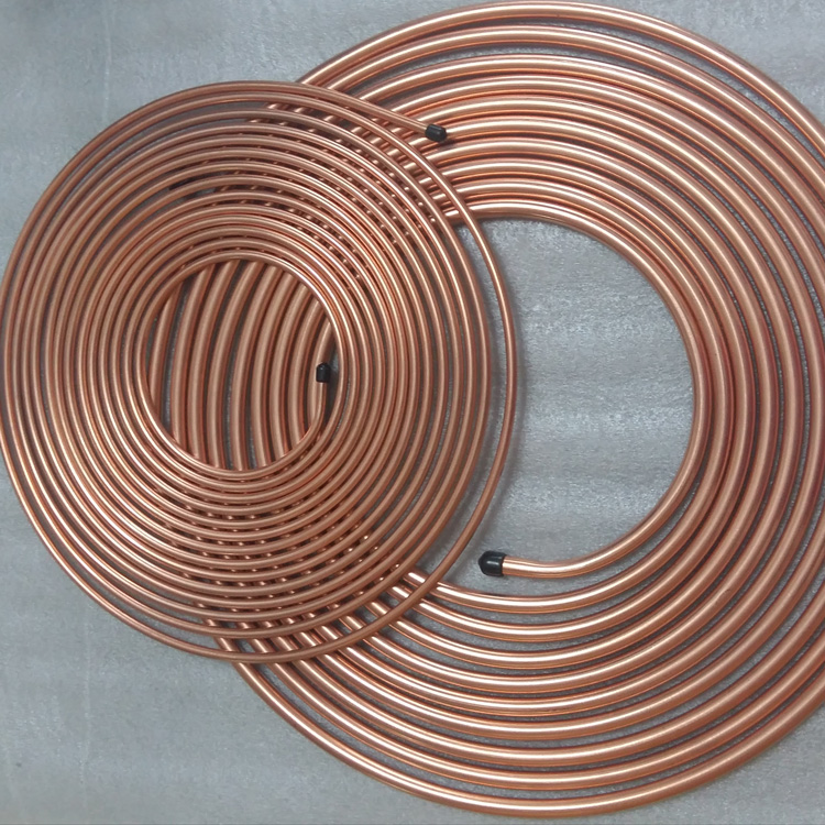 pancake coil refrigeration copper tube for sale