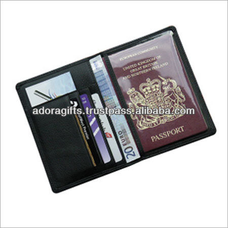 ADAPC - 0083 100 % pure leather passport book covers / best design passport wallets / leather passport cover for good journey
