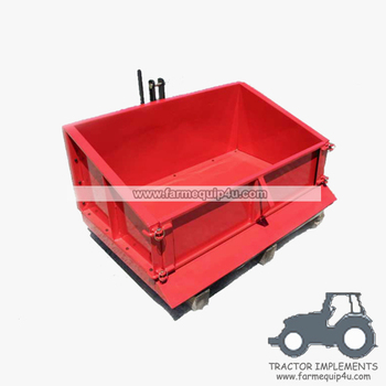 Tractor 3-Point Tipping Transport Box TTB180