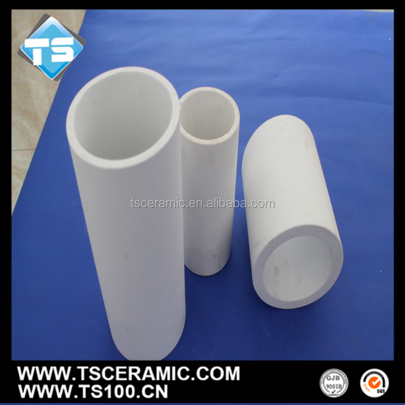 "8"" alumina ceramic tube manufacturer,China,Zibo"