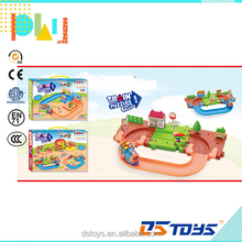 Shantou toy plastic DIY battery operated building block puzzle design