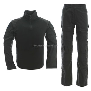Wholesale FROG body black tactical uniform
